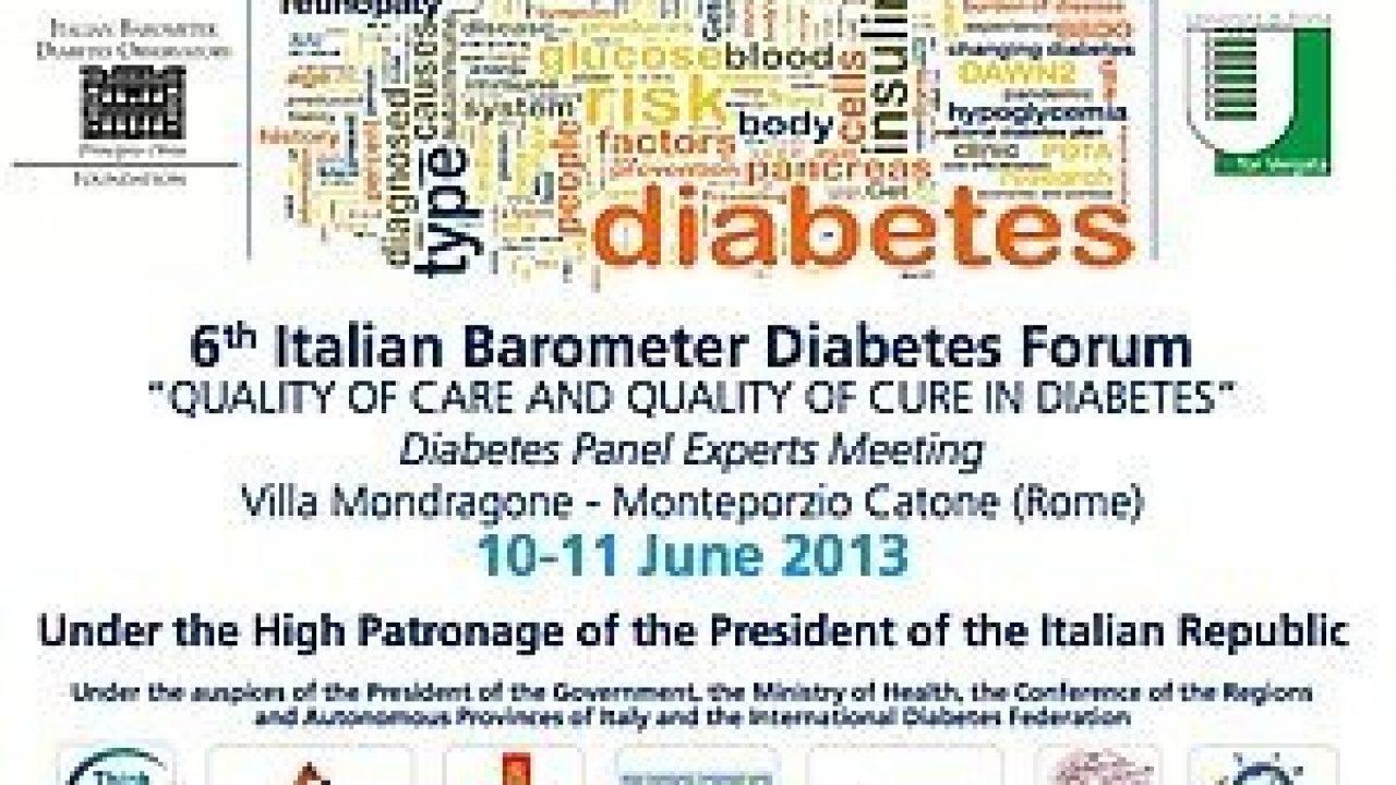 Presentazione VI Italian Barometer Diabetes Forum