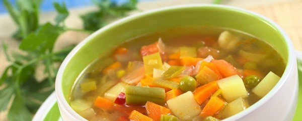 minestre e minestroni per mantenere la linea