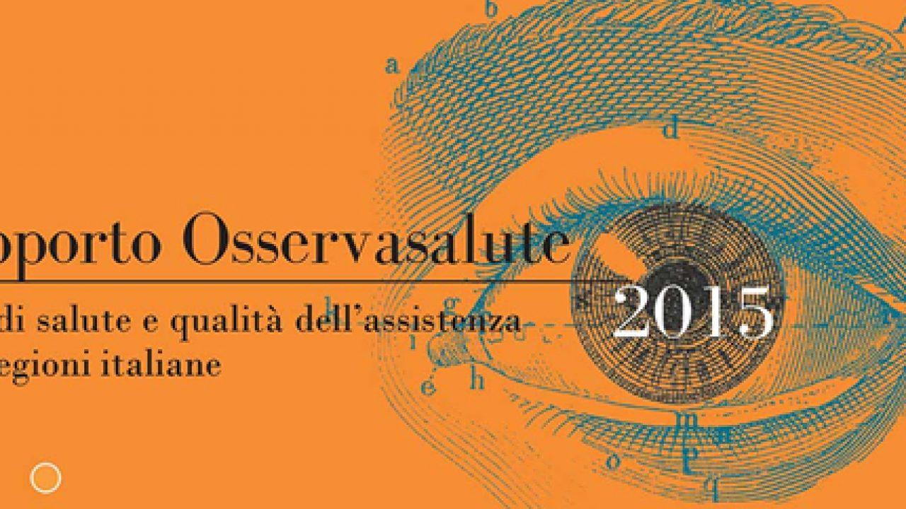 Rapporto Osservasalute 2015: trend in crescita di sovrappeso/obesità