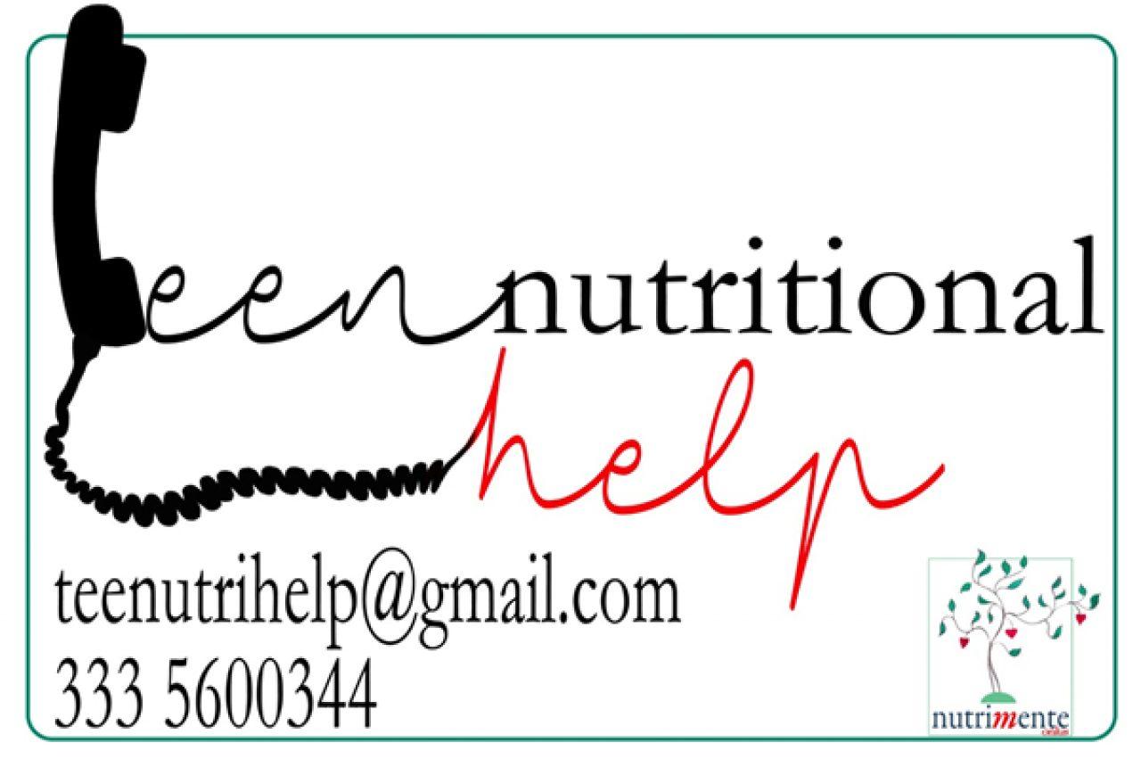 TEEN NUTRITIONAL HELP – Sportello telefonico per i disturbi alimentari dei figli