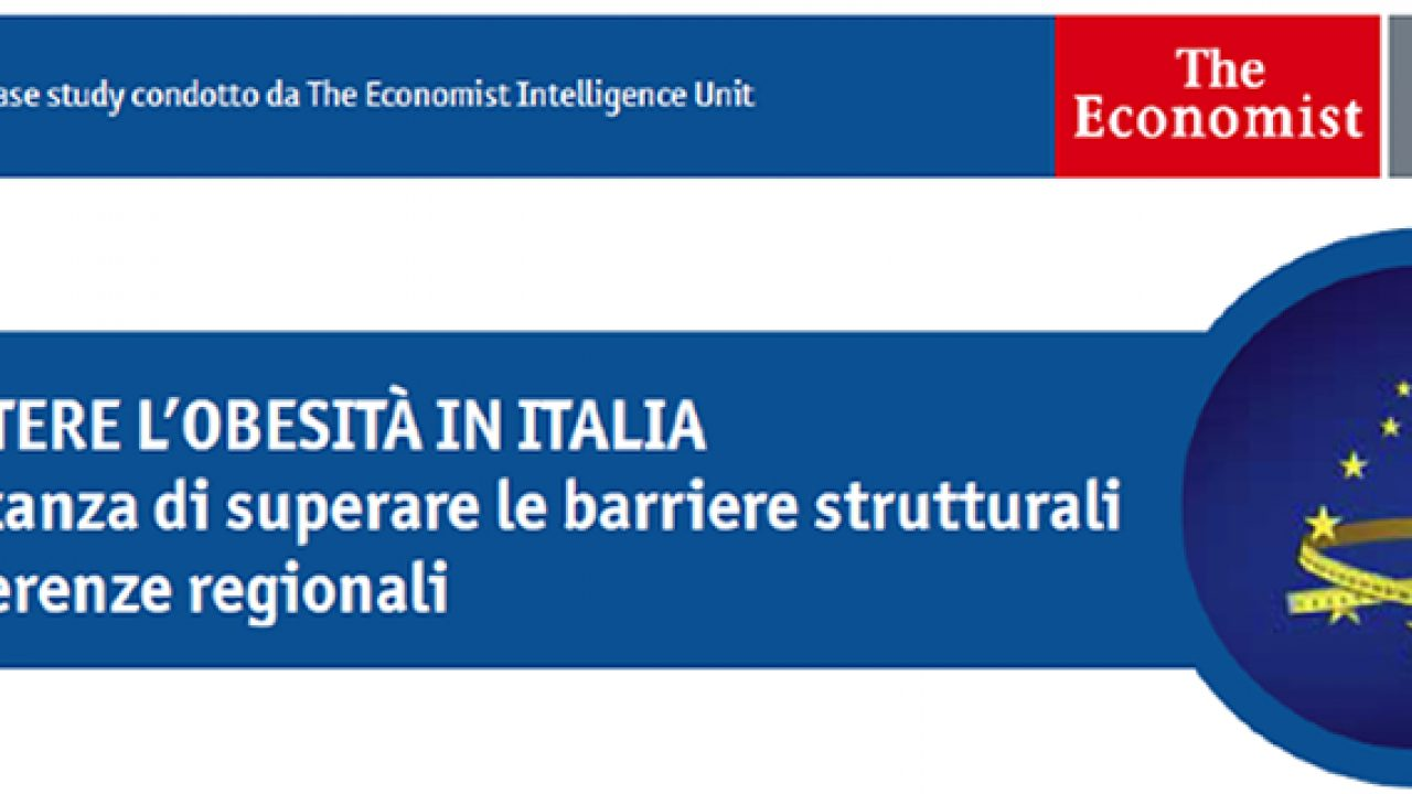 """Combattere l'obesità in Italia. Lo studio di """"The Economist"""""""