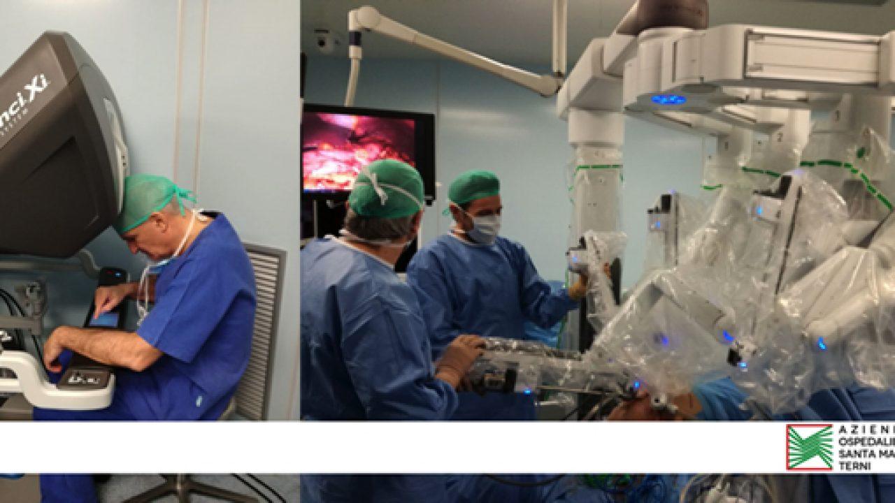 """All'AO di Terni, il sistema robotico """"Da Vinci Xi"""", la nuova frontiera per la chirurgia mininvasiva"""