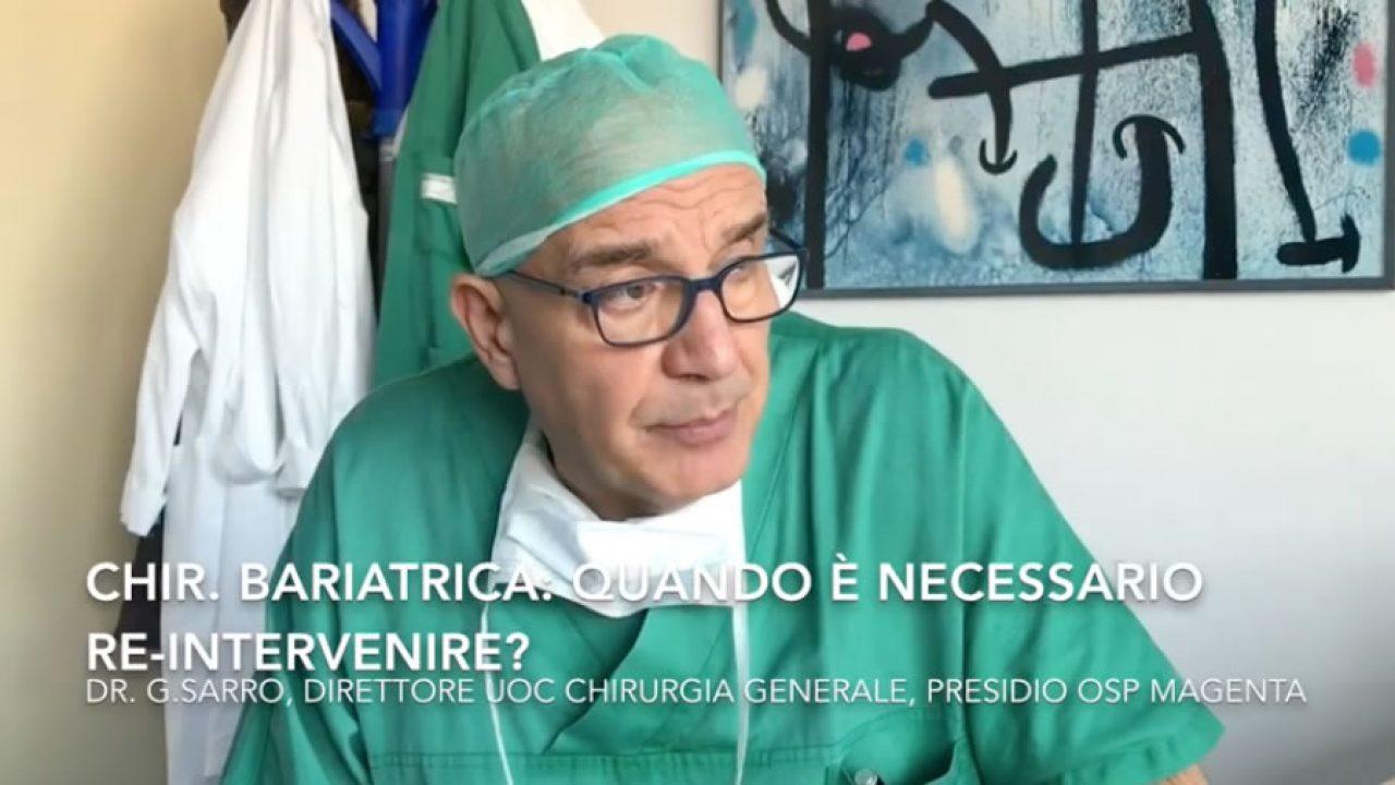 Chirurgia bariatrica: quando è necessario re-intervenire?
