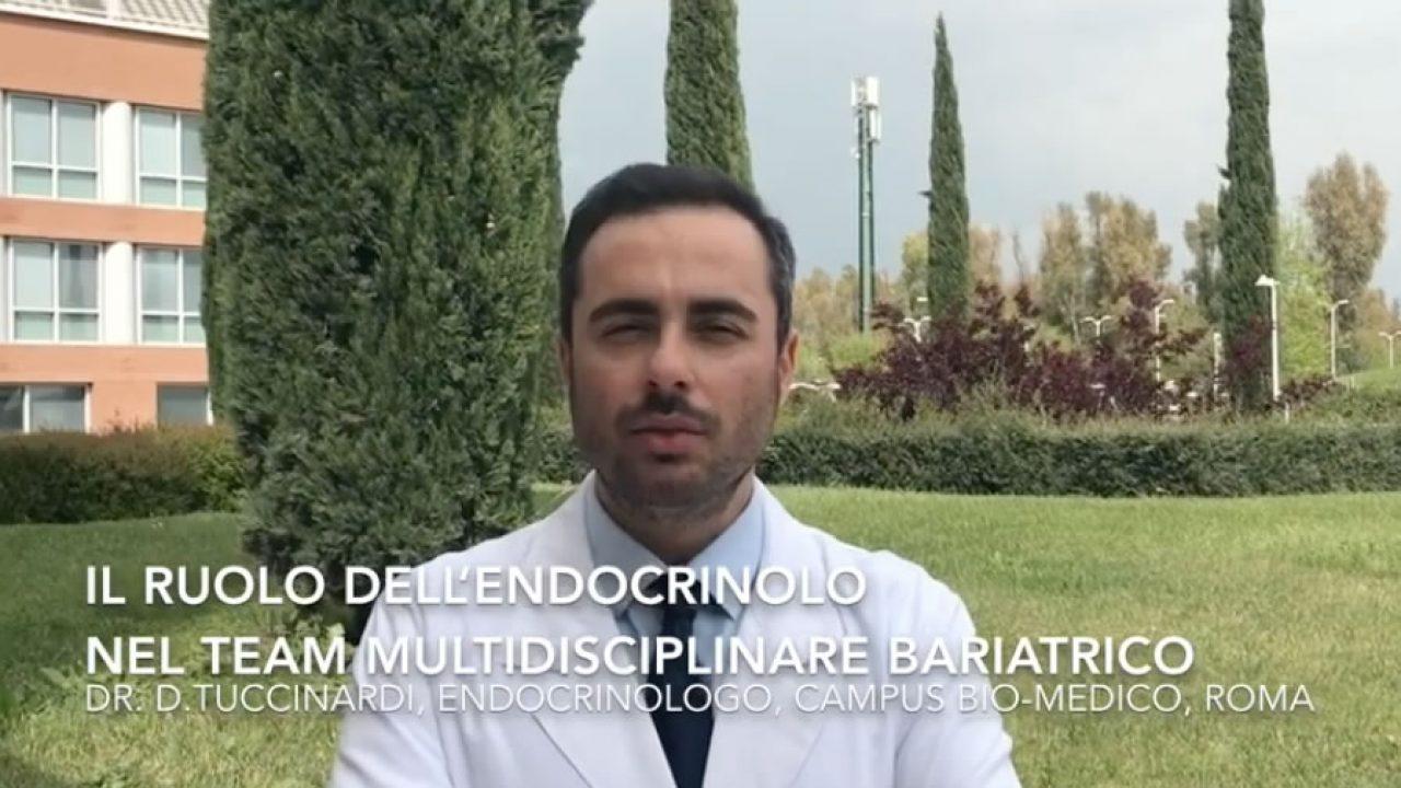 Qual è il ruolo dell'endocrinologo del team multidisciplinare bariatrico del Campus?