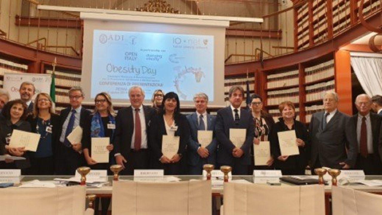 Obesity Day 2019: firmata la Carta dei Diritti e dei Doveri della Persona con Obesità