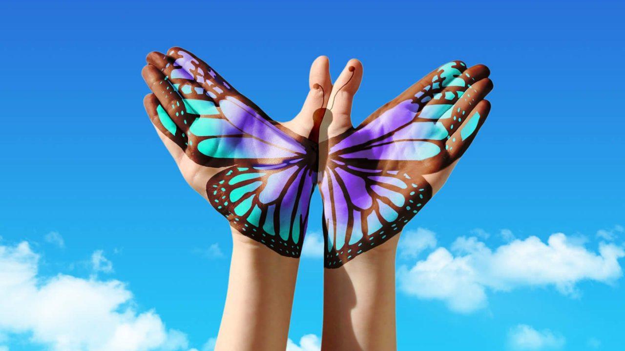 Oggi sono piena di voglia di volare verso un nuovo futuro